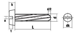 DIN 7513 форма BE