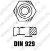 DIN 929 м16