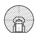 DIN 319 Ручка шаровая - чертеж