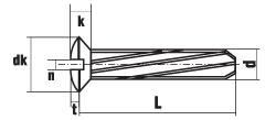 DIN 7513 форма GE