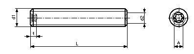 DIN 34827 CP - схема