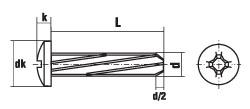 DIN 7516 форма A