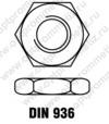 DIN 936 м16
