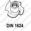 DIN 1624 м16