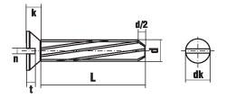 DIN 7513 форма FE