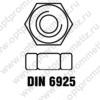 DIN 6925 м16