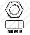 DIN 6915 м16