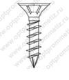 ОПМ 206017 Саморез Spax конструкционный для дерева, с потайной головкой и зенкующими рёбрами, щлиц Torx
