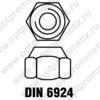 DIN 6924 м16
