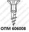 ОПМ 606008 Саморез Spax с потайной головкой