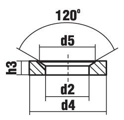 DIN 6319 форма D