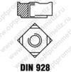 DIN 928 м16