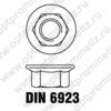 DIN 6923 м16
