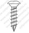 ОПМ 206027 Саморез Spax для деревянных стоек, с низкой полукруглой головкой, щлиц Torx T10