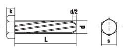 DIN 7513 форма A